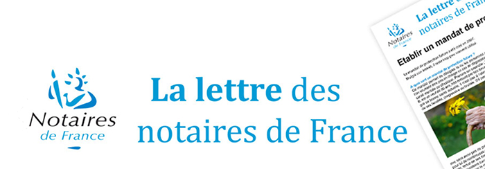 La lettre des notaires de France